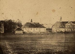 Platelių dvaras XIX a. pabaigoje