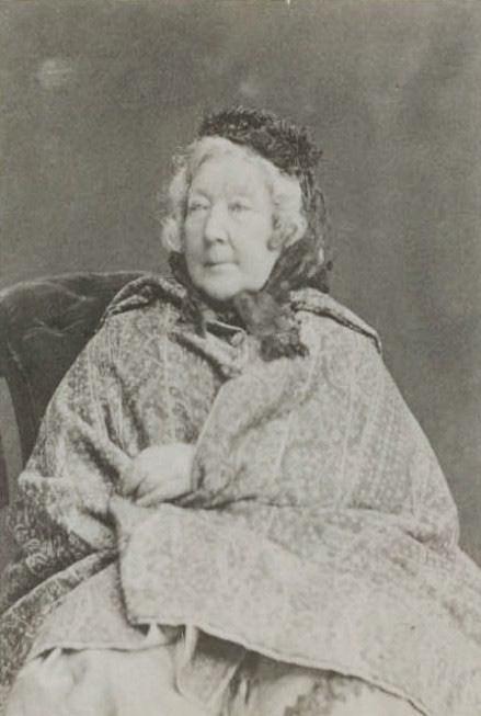 Grafienė Sofija Viktorija Tyzenhauzaitė de Šuazel-Gufjė senatvėje